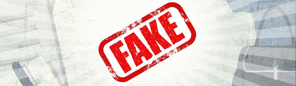 Stop the fake!